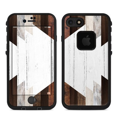 Lifeproof iPhone 7-8 Fre Case Skin - Geo Wood