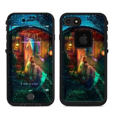 Lifeproof iPhone 7 Fre Case Skin - Gypsy Firefly