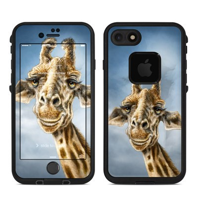 Lifeproof iPhone 7 Fre Case Skin - Giraffe Totem