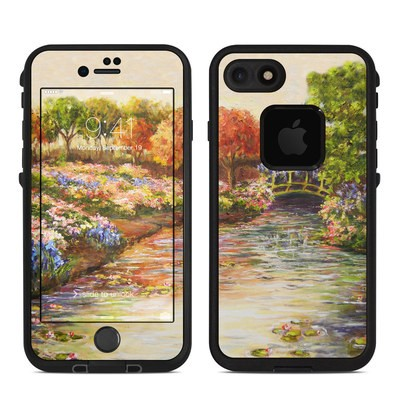 Lifeproof iPhone 7 Fre Case Skin - Giverny Forever