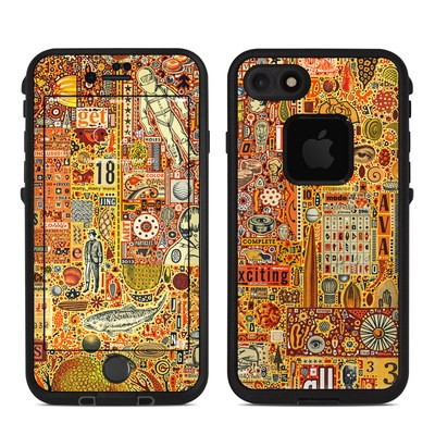 Lifeproof iPhone 7 Fre Case Skin - The Golding Time