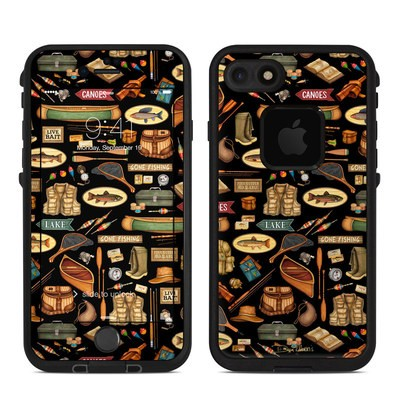 Lifeproof iPhone 7 Fre Case Skin - Gone Fishing