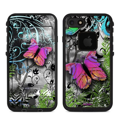 Lifeproof iPhone 7 Fre Case Skin - Goth Forest