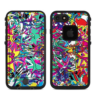 Lifeproof iPhone 7 Fre Case Skin - Graf
