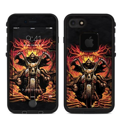 Lifeproof iPhone 7 Fre Case Skin - Grim Rider