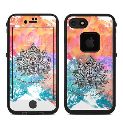 Lifeproof iPhone 7 Fre Case Skin - Happy Lotus