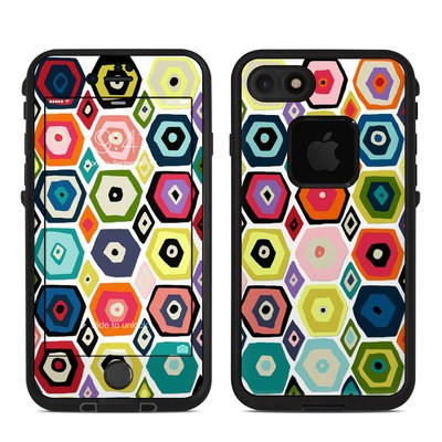 Lifeproof iPhone 7 Fre Case Skin - Hex Diamond