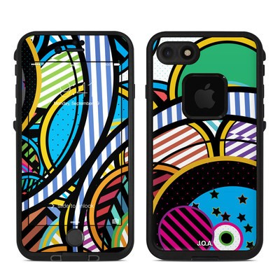 Lifeproof iPhone 7 Fre Case Skin - Hula Hoops