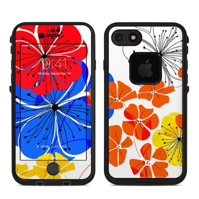 Lifeproof iPhone 7 Fre Case Skin - Hibiscus Dance