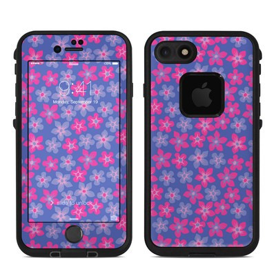Lifeproof iPhone 7-8 Fre Case Skin - Hibiscus