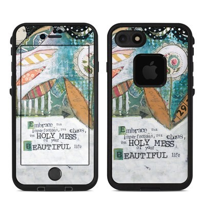Lifeproof iPhone 7 Fre Case Skin - Holy Mess