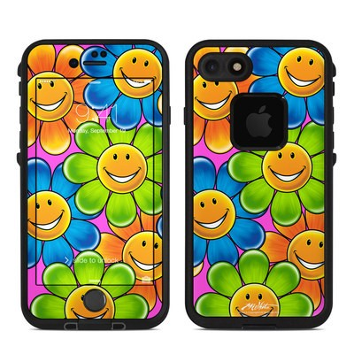 Lifeproof iPhone 7 Fre Case Skin - Happy Daisies