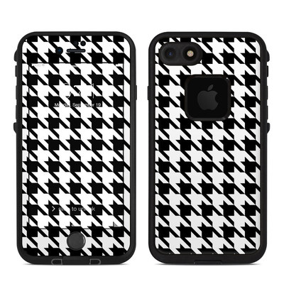 Lifeproof iPhone 7 Fre Case Skin - Houndstooth