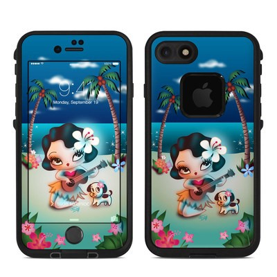 Lifeproof iPhone 7-8 Fre Case Skin - Hula Night