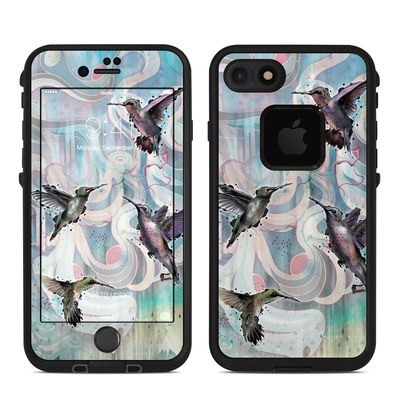 Lifeproof iPhone 7 Fre Case Skin - Hummingbirds