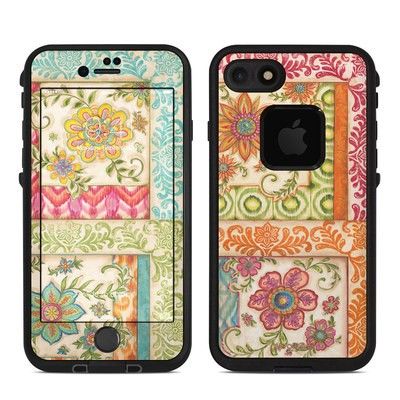 Lifeproof iPhone 7 Fre Case Skin - Ikat Floral