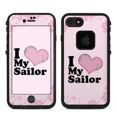 Lifeproof iPhone 7 Fre Case Skin - I Love My Sailor