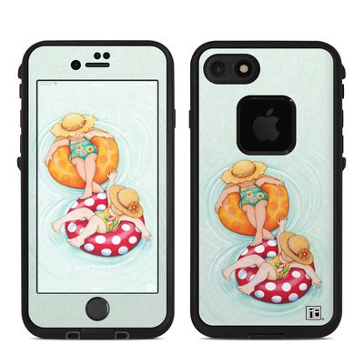 Lifeproof iPhone 7 Fre Case Skin - Inner Tube Girls