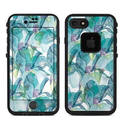 Lifeproof iPhone 7 Fre Case Skin - Iris Petals