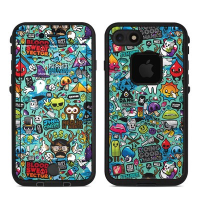 Lifeproof iPhone 7 Fre Case Skin - Jewel Thief