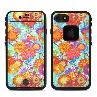 Lifeproof iPhone 7 Fre Case Skin - Jubilee Blooms