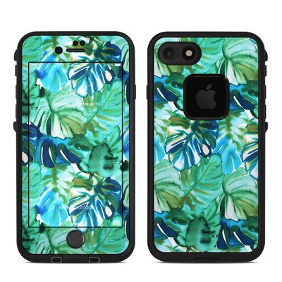 Lifeproof iPhone 7 Fre Case Skin - Jungle Palm