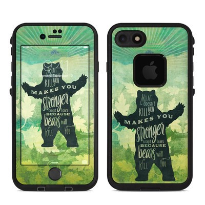 Lifeproof iPhone 7 Fre Case Skin - What Doesnt Kill You