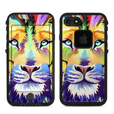 Lifeproof iPhone 7 Fre Case Skin - King of Technicolor