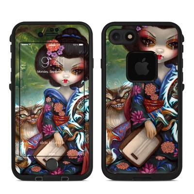 Lifeproof iPhone 7-8 Fre Case Skin - Kirin and Bakeneko
