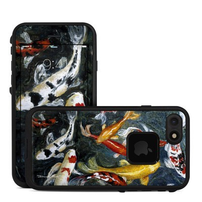 Lifeproof iPhone 7 Fre Case Skin - Koi's Happiness