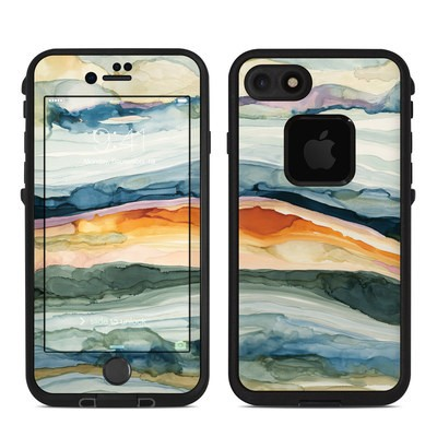 Lifeproof iPhone 7-8 Fre Case Skin - Layered Earth