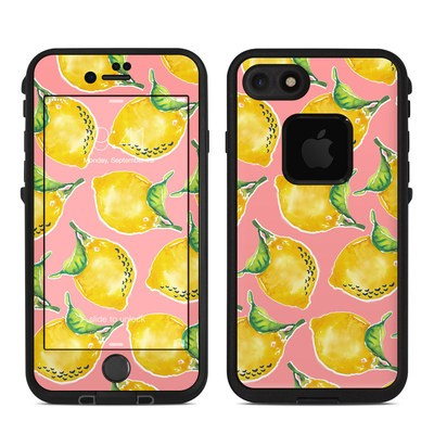 Lifeproof iPhone 7 Fre Case Skin - Lemon