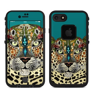 Lifeproof iPhone 7 Fre Case Skin - Leopard Queen