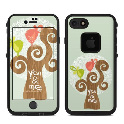 Lifeproof iPhone 7 Fre Case Skin - Two Little Birds