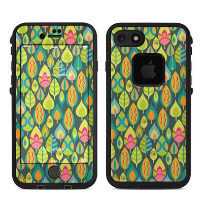 Lifeproof iPhone 7-8 Fre Case Skin - Little Leaves