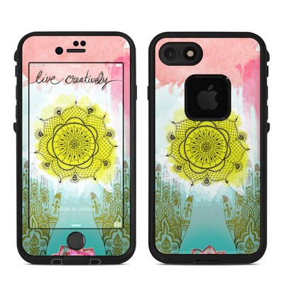 Lifeproof iPhone 7 Fre Case Skin - Live Creative
