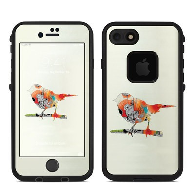 Lifeproof iPhone 7 Fre Case Skin - Little Bird