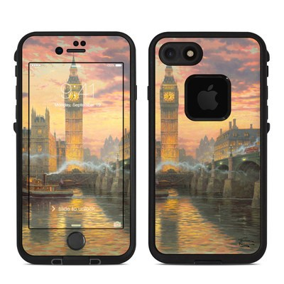 Lifeproof iPhone 7-8 Fre Case Skin - London - Thomas Kinkade