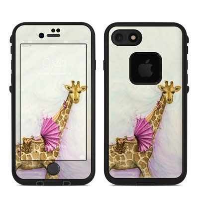 Lifeproof iPhone 7-8 Fre Case Skin - Lounge Giraffe