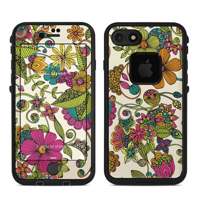 Lifeproof iPhone 7-8 Fre Case Skin - Maia Flowers