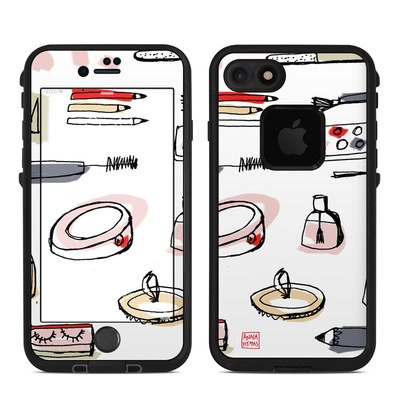 Lifeproof iPhone 7 Fre Case Skin - Makeup