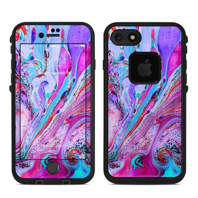 Lifeproof iPhone 7-8 Fre Case Skin - Marbled Lustre