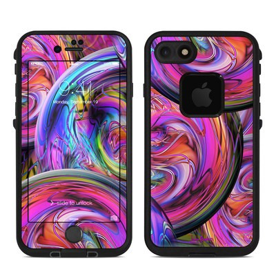 Lifeproof iPhone 7 Fre Case Skin - Marbles