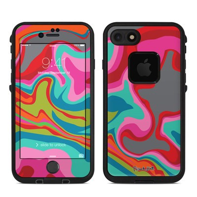 Lifeproof iPhone 7 Fre Case Skin - Marble Bright