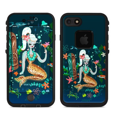 Lifeproof iPhone 7-8 Fre Case Skin - Martini Mermaid