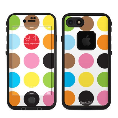 Lifeproof iPhone 7 Fre Case Skin - Multidot