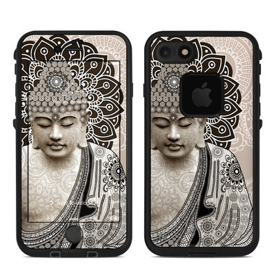Lifeproof iPhone 7 Fre Case Skin - Meditation Mehndi