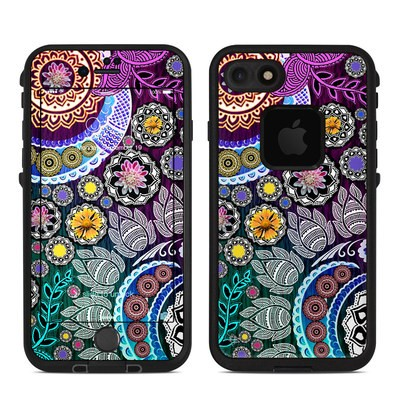 Lifeproof iPhone 7 Fre Case Skin - Mehndi Garden