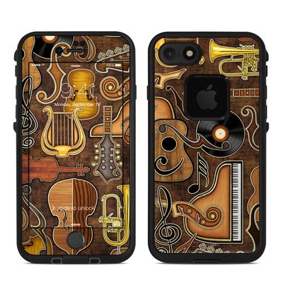 Lifeproof iPhone 7 Fre Case Skin - Music Elements