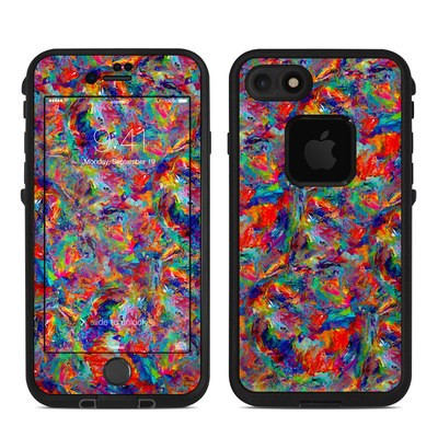 Lifeproof iPhone 7 Fre Case Skin - Melted